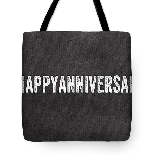 Happy Anniversary- Greeting Card Tote Bag