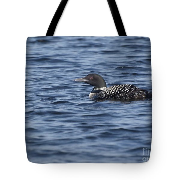 Happy As A Loon Tote Bag
