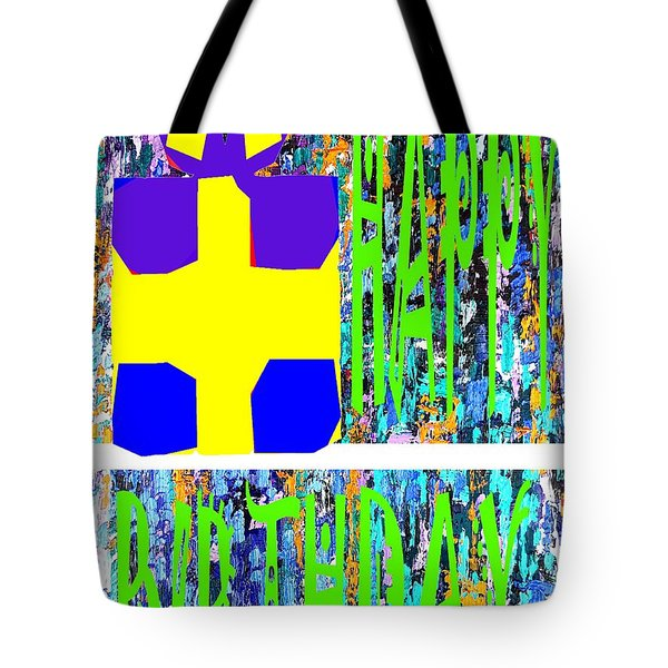 Happy Birthday 10 Tote Bag by Patrick J Murphy