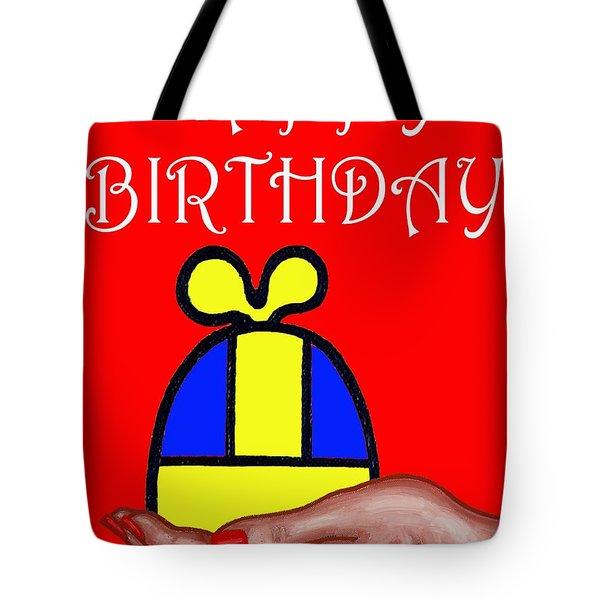 Happy Birthday 2 Tote Bag by Patrick J Murphy