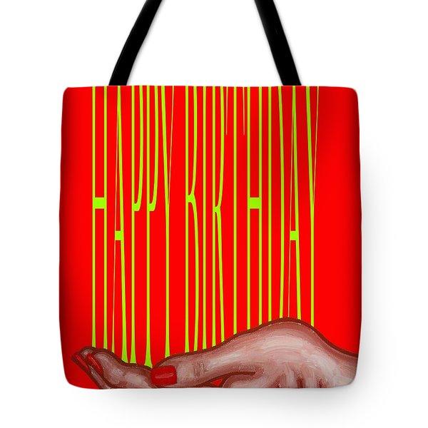 Happy Birthday 4 Tote Bag by Patrick J Murphy