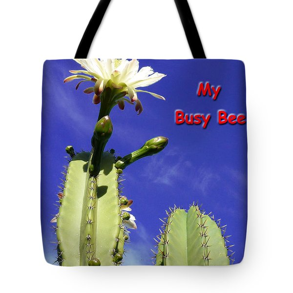 Happy Birthday Card And Print 21 Tote Bag
