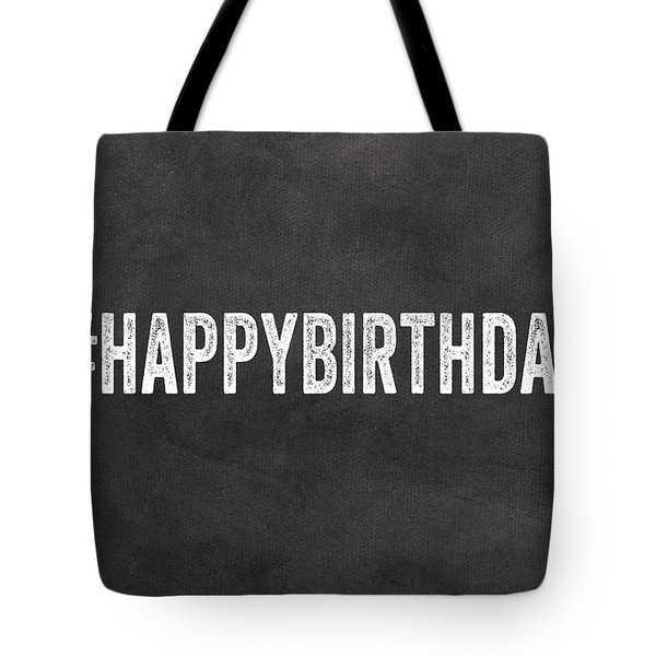 Happy Birthday Card- Greeting Card Tote Bag