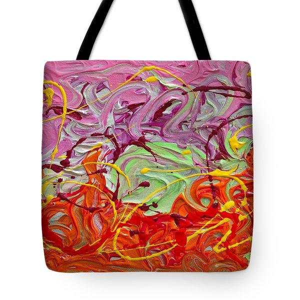 Happy Birthday Tote Bag by Donna Blackhall