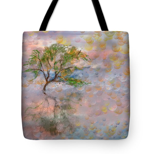 Happy Birthday Good Old Tree Tote Bag by Angela A Stanton