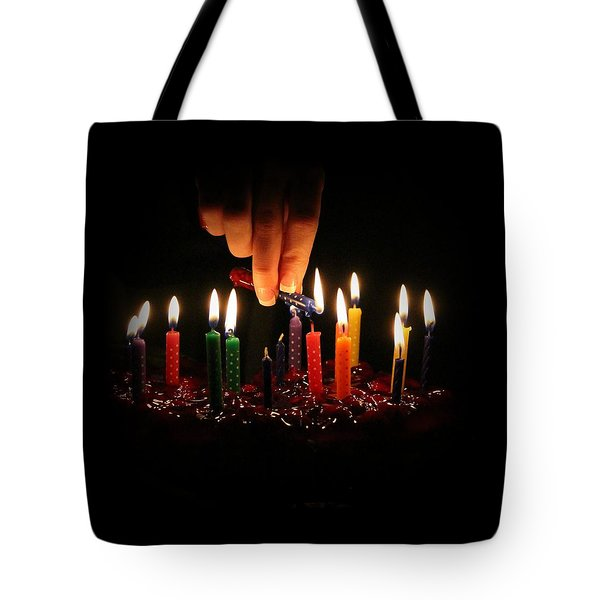 Tote Bag featuring the photograph Happy Birthday To You by Elizabeth Sullivan