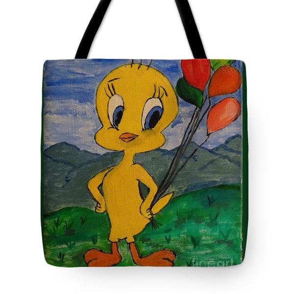 Happy Birthday Tweet Tote Bag