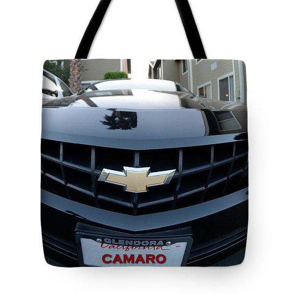 Tote Bag featuring the photograph Happy Camero by Clayton Bruster