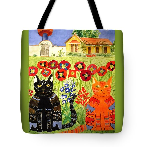 Happy Cats Tote Bag