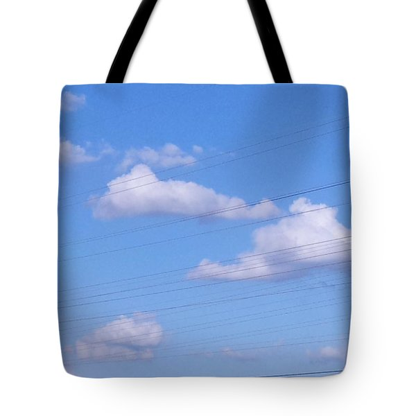 Happy Cloud Day Tote Bag