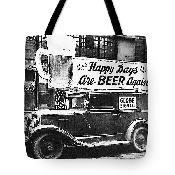 Happy Days Are Beer Again Tote Bag