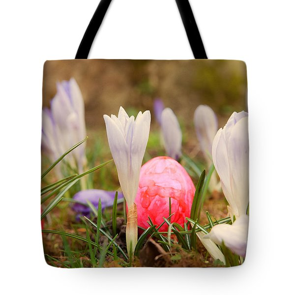 Tote Bag featuring the photograph Happy Easter 2 by Christine Sponchia