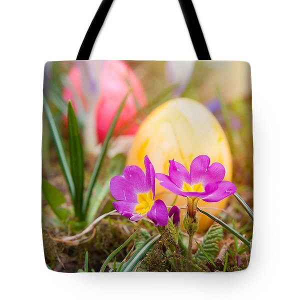 Tote Bag featuring the photograph Happy Easter by Christine Sponchia