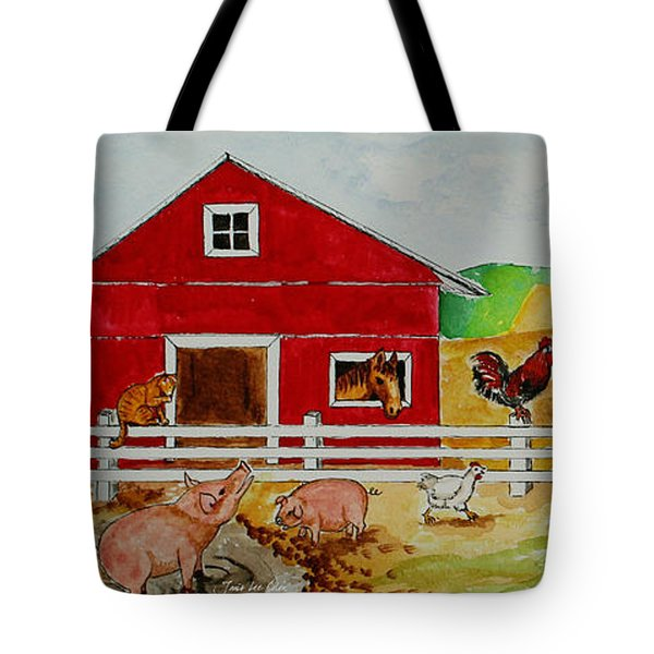 Happy Farm Tote Bag