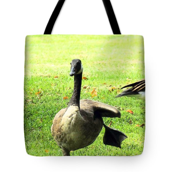 Happy Feet Dance Tote Bag