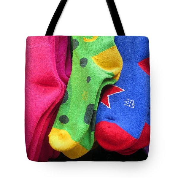 Wear Loud Socks Tote Bag