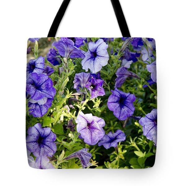 Happy Flowers Tote Bag by Wilma  Birdwell