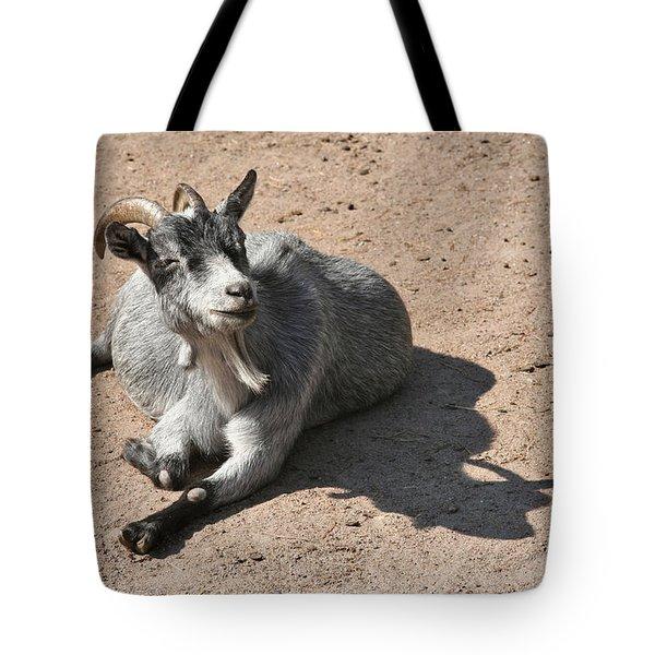 Happy Goat Tote Bag