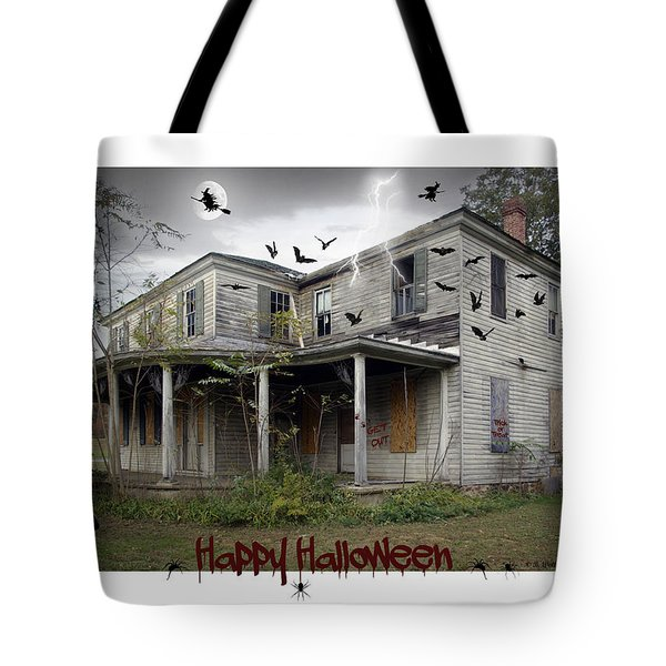 Happy Halloween Tote Bag by Brian Wallace