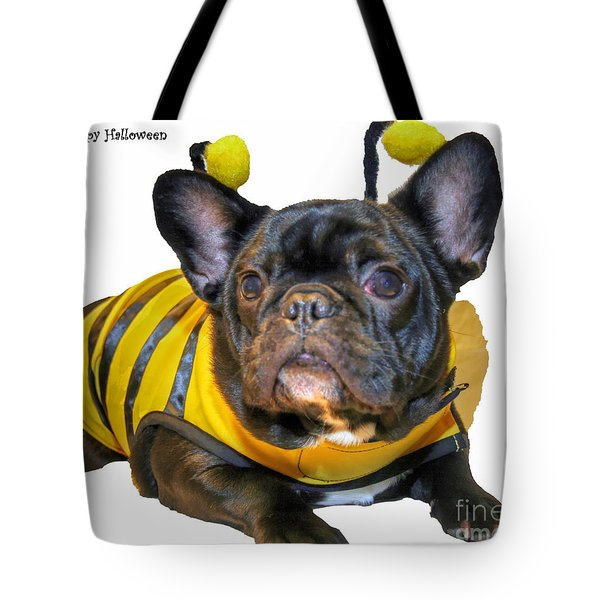 Happy Halloween Card Tote Bag by Tap On Photo