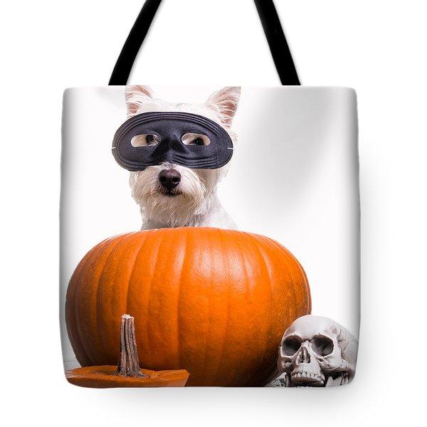 Happy Halloween Tote Bag by Edward Fielding
