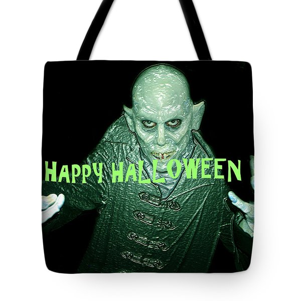 Happy Halloween The Count Tote Bag