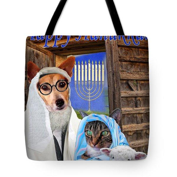 Happy Hanukkah -1 Tote Bag
