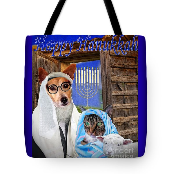 Happy Hanukkah -1 Tote Bag