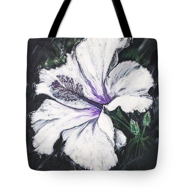 Happy Hibiscus Tote Bag
