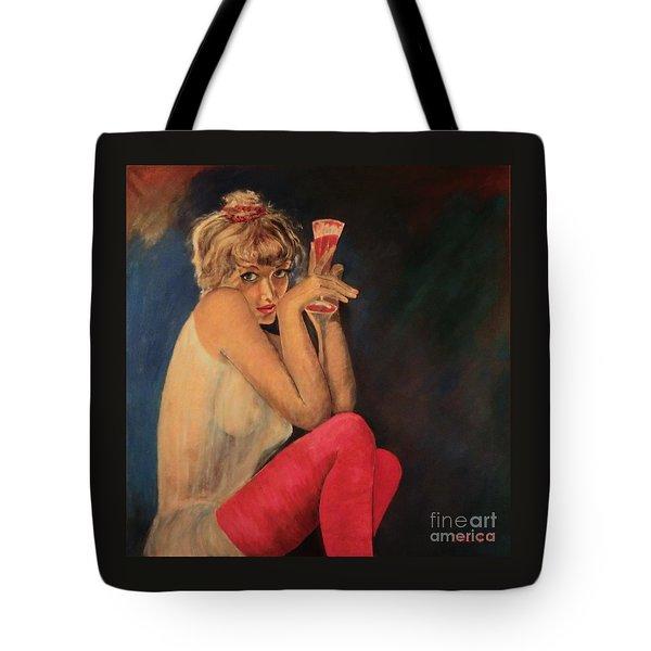 Happy Hour Tote Bag by Dagmar Helbig