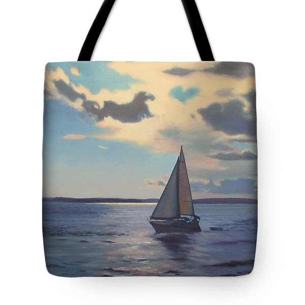 Happy Hour Tote Bag by Dianne Panarelli Miller