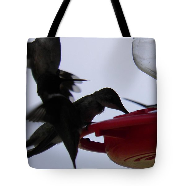 Tote Bag featuring the photograph Happy Hour by Nick Kirby