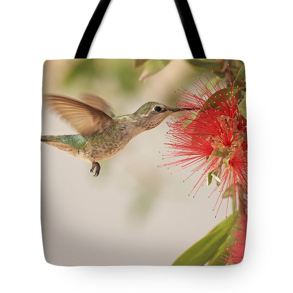 Happy Humming Tote Bag
