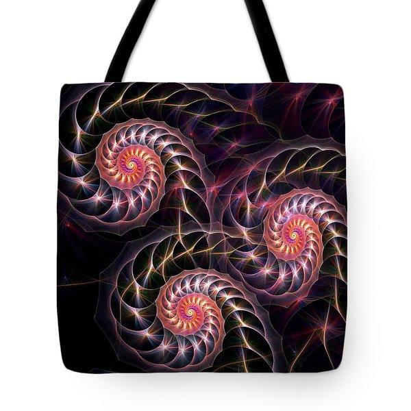 Happy Lights Tote Bag by Anastasiya Malakhova