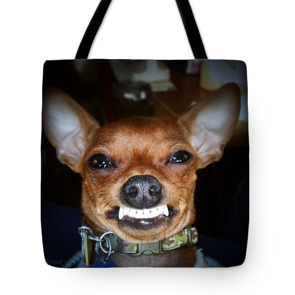 Happy Max Tote Bag by Shana Rowe Jackson