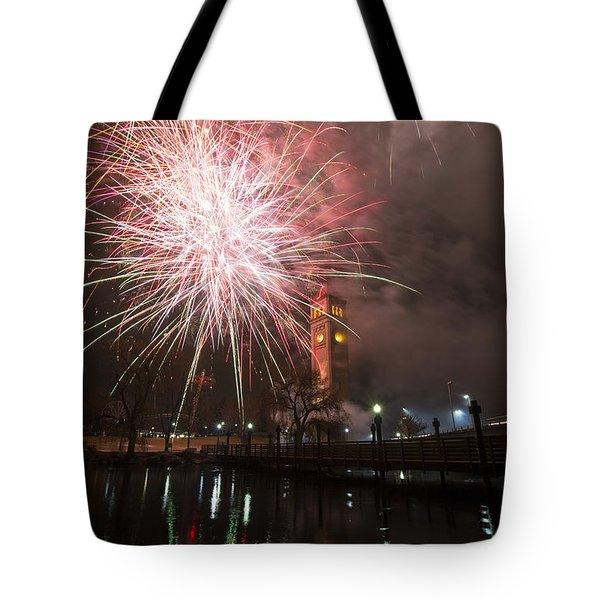 Happy New Year 2014 B Tote Bag