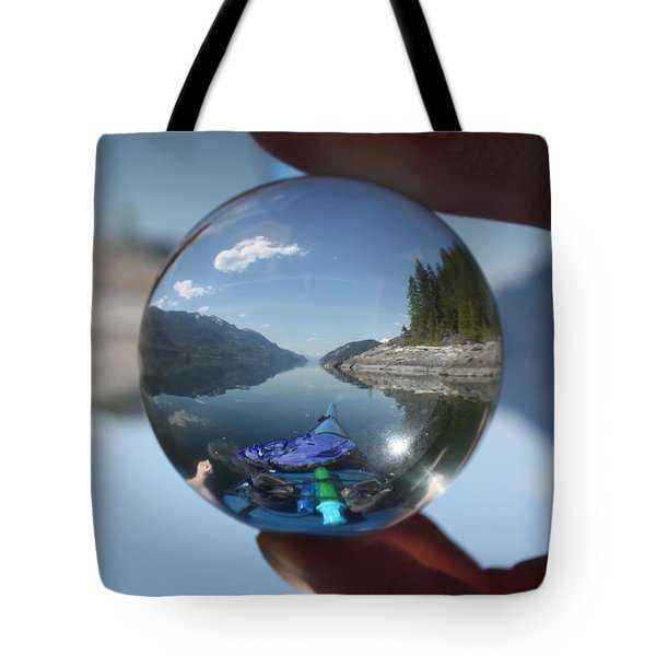 Happy Place Tote Bag by Cathie Douglas