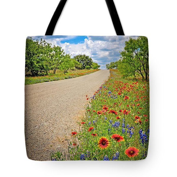 Happy Road Tote Bag