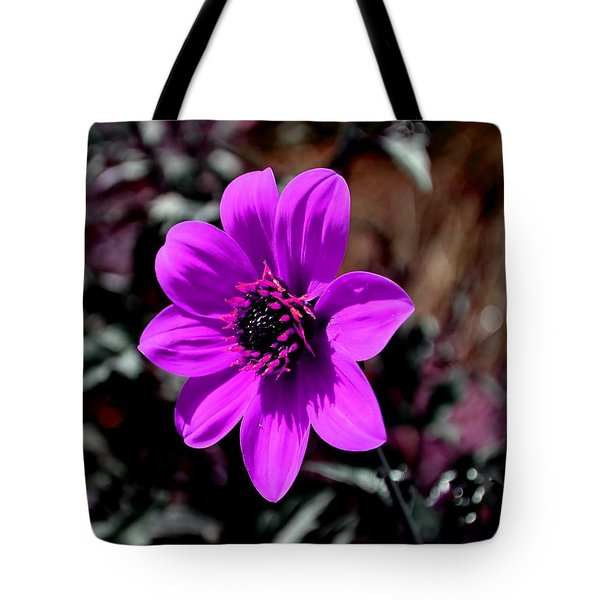 Happy Single Juliet Tote Bag by Deena Stoddard