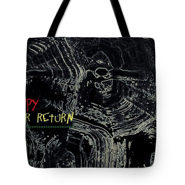 Happy Solar Return 470 Tote Bag