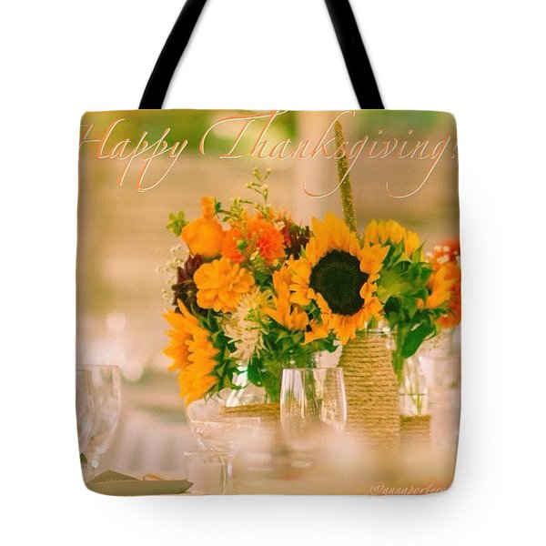 """Happy Thanksgiving!!! """"for Each New Tote Bag"""