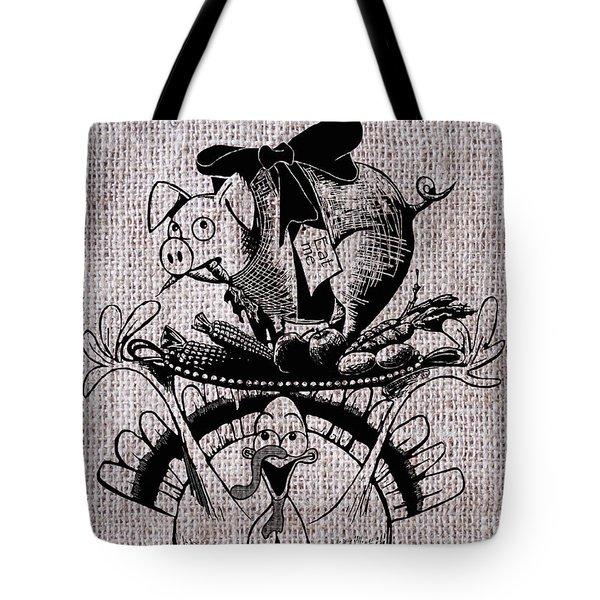 Happy Thanksgiving - Natural Tote Bag