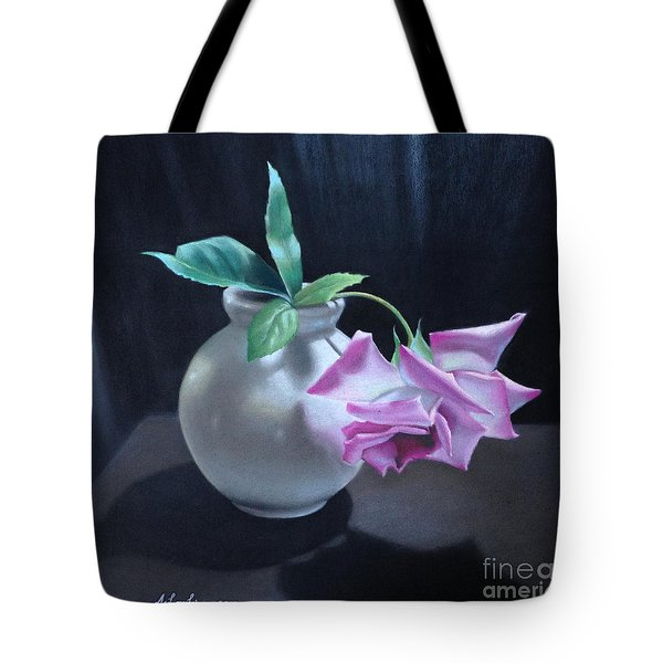 Happy To Be Alone Tote Bag