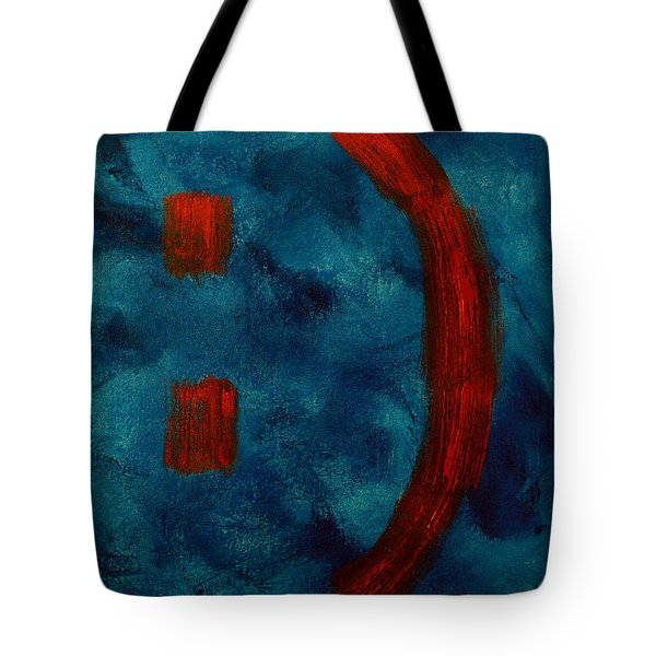 Happy To Be Here  Tote Bag by Shawn Marlow