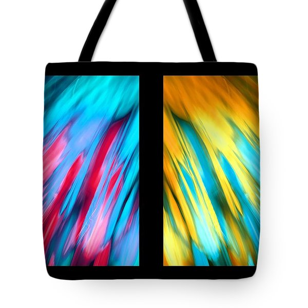 Happy Together Layout Tote Bag by Dazzle Zazz