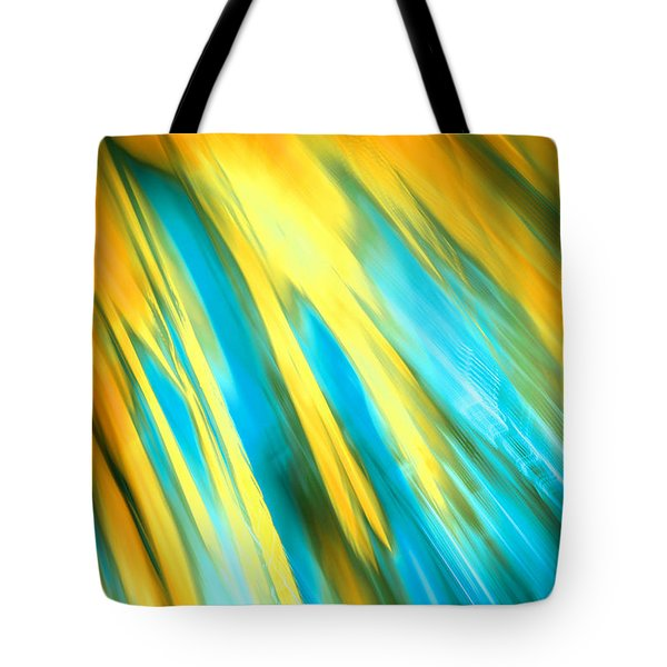 Happy Together Right Side Tote Bag by Dazzle Zazz