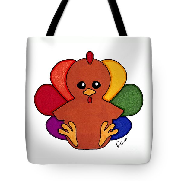 Happy Turkey Day Tote Bag