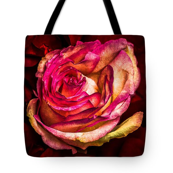 Happy Valentine's Day - 1 Tote Bag by Alexander Senin