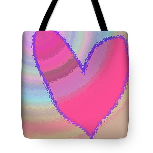Happy Valentines Day Tote Bag by Rich Collins