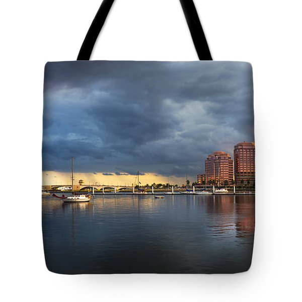 Harbor At West Palm Beach Tote Bag